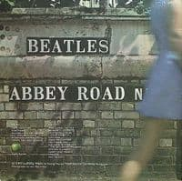 THE BEATLES Abbey Road Vinyl Record LP US Apple 1969